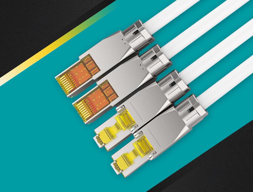 新型5G网络水晶头