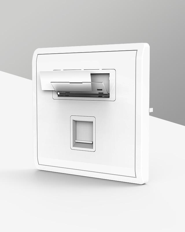 網絡面板,電腦插座